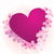 фиолетовый · розовый · сердце · Вишневое · дерево - Сток-фото © cherju