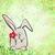 小 · ウサギ · おもちゃ · 花 · おもちゃ · 孤立した - ストックフォト © cherju