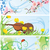violín · ornamento · modelo · fondo · juguete · blanco - foto stock © cherju