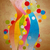 soyut · renkli · gökkuşağı · dalgalar · şablon · doğa - stok fotoğraf © cherju