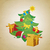 vintage christmas tree stock photo © cherju