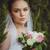 красивой · невеста · подвенечное · платье · Открытый · портрет · брюнетка - Сток-фото © chesterf