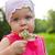little girl holding flowers stock photo © chesterf