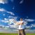 человека · глядя · далеко · далеко · небе · весны - Сток-фото © chesterf