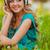 piękna · asian · kobiet · student · słuchanie · muzyki - zdjęcia stock © chesterf