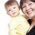 матери · сын · счастливым · портрет · белый · женщину - Сток-фото © chesterf