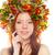 belo · jovem · vermelho · mulher · sardas · atraente - foto stock © chesterf