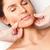 bastante · mujer · masaje · al · aire · libre · spa · salud - foto stock © chesterf