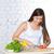 kişi · marul · atış · pişirme · akşam · yemeği - stok fotoğraf © chesterf