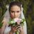 花嫁 · 肖像 · 緑 · 木 · 屋外 · 美しい - ストックフォト © chesterf