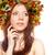hermosa · jóvenes · rojo · mujer · pecas · atractivo - foto stock © chesterf