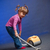 girl cleaning carpet stock photo © chesterf