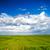 verde · fresche · erba · cielo · blu · panorama · pronto - foto d'archivio © chesterf