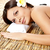 woman receiving back massage stock photo © chesterf