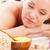 donna · rilassante · caldo · pietra · massaggio · spa - foto d'archivio © chesterf