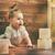 kislány · játszik · kockák · boldog · gyermek · szórakozás - stock fotó © choreograph