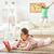 anne · okuma · kitap · aile · dinlenmek · çocuk - stok fotoğraf © choreograph