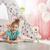 creatieve · meisje · verf · centrum - stockfoto © choreograph