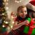 család · karácsony · ünneplés · gyermek · anya · játszik - stock fotó © choreograph
