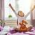 kid wakes up from sleep stock photo © choreograph