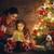 familie · magie · geschenkdoos · vrolijk · christmas · gelukkig - stockfoto © choreograph