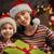 anne · kız · hediyeler · neşeli · Noel · mutlu - stok fotoğraf © choreograph