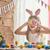 ребенка · Живопись · яйца · Cute · мало - Сток-фото © choreograph