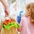 élelmiszerbolt · vásárlás · nő · gyermek · áruház · választ - stock fotó © choreograph