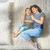 anne · kız · oynama · çocuk · birlikte - stok fotoğraf © choreograph