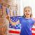 patriotyczny · wakacje · szczęśliwy · dziecko · cute · mały - zdjęcia stock © choreograph