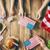 patriotic holiday happy family stock photo © choreograph