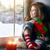 vergadering · venster · vrolijk · christmas · gelukkig - stockfoto © choreograph