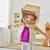 astronaute · enfant · sourire · maison · chambre · costume - photo stock © choreograph