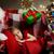 kerstman · verrassing · weinig · slapen · meisje - stockfoto © choreograph