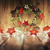 Noël · design · noël · couronne · joyeux · frontière - photo stock © choreograph