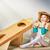 астронавт · ребенка · костюм · улыбка · костюм · молодые - Сток-фото © choreograph