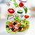 saláta · egészséges · vegetáriánus · fehér · tányér · természet - stock fotó © choreograph