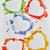 acuarela · corazones · mano · pintado · corazón · pintura - foto stock © choreograph
