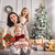 twee · jonge · kinderen · kerstboom · boom - stockfoto © choreograph