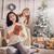mamá · hija · regalos · alegre · Navidad · feliz - foto stock © choreograph