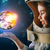 астронавт · ребенка · костюм · мира · счастливым · Мир - Сток-фото © choreograph