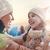 семьи · зимний · сезон · счастливым · любящий · матери · ребенка - Сток-фото © choreograph