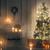 christmas · kaarsen · donkere · nacht · mooie · vakantie - stockfoto © choreograph