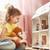 девушки · кукла · дома · счастливая · девушка · мишка · домой - Сток-фото © choreograph