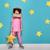 kız · oynama · astronot · küçük · çocuk · astronot - stok fotoğraf © choreograph