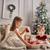 kızlar · oynama · birlikte · Noel · neşeli - stok fotoğraf © choreograph