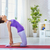 prática · ioga · beautiful · girl · comprometido · saúde · exercer - foto stock © choreograph
