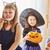 genç · kardeş · kardeş · halloween · kostüm · hazır - stok fotoğraf © choreograph