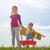 Träume · Pilot · Kind · Spielzeug · Flugzeug · Sonnenuntergang - stock foto © choreograph
