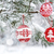 christmas tree branch with baubles stock photo © choreograph